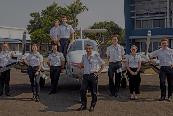 Learn to Fly - Flight Options Pilot Academy Group Photo